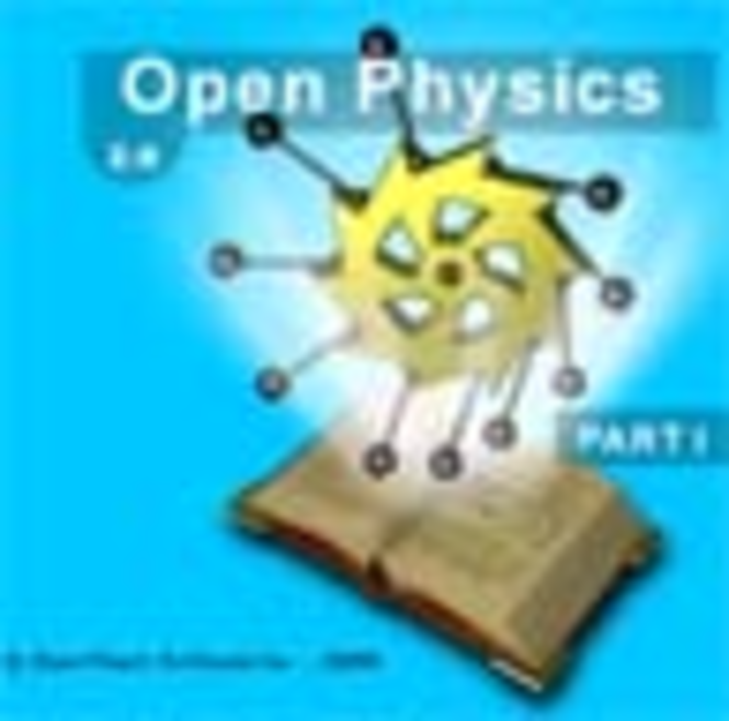 Open Physics. Part I Screenshot