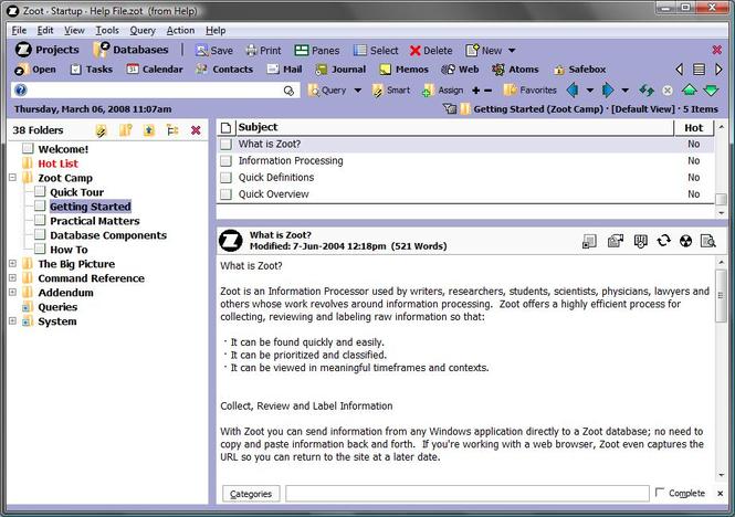 Zoot Screenshot 1