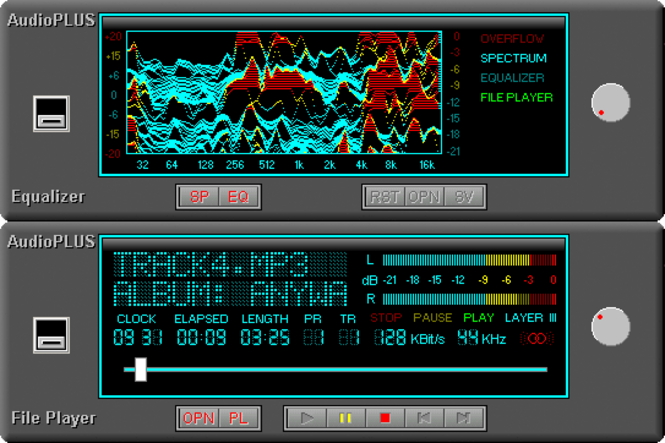 32-bit AudioPlus Screenshot