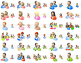 Desktop People Icons 1