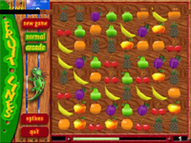 Fruit Puzzle 3D Screenshot