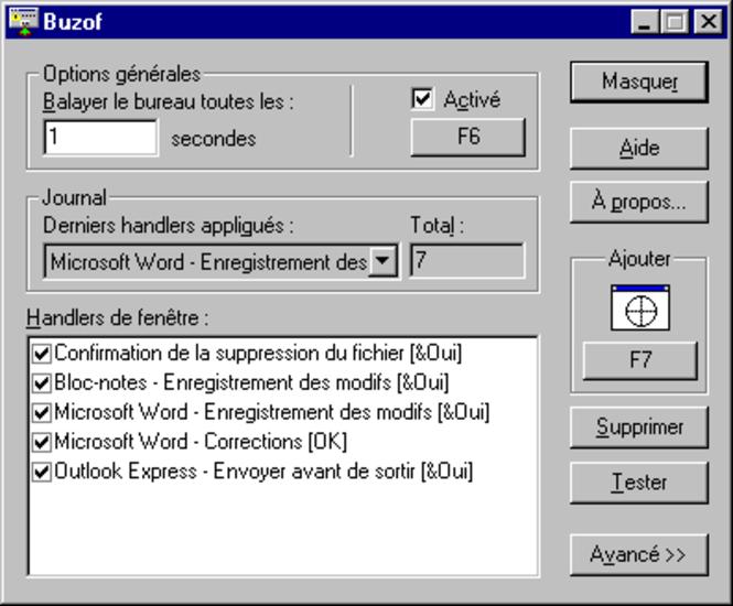 Buzof (fr) Screenshot