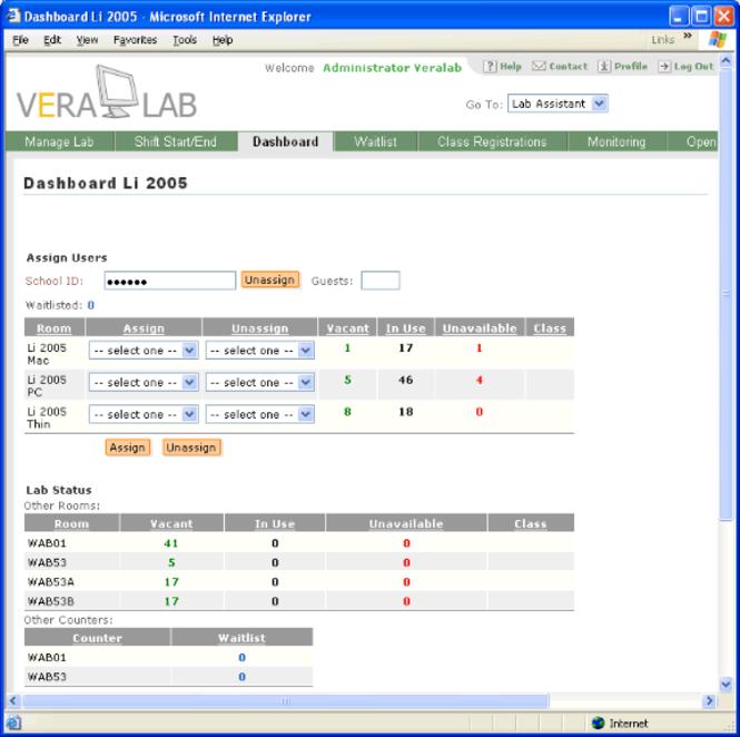 VeraLab Screenshot