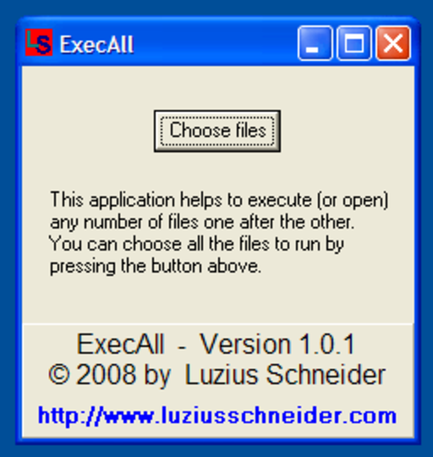 ExecAll Screenshot