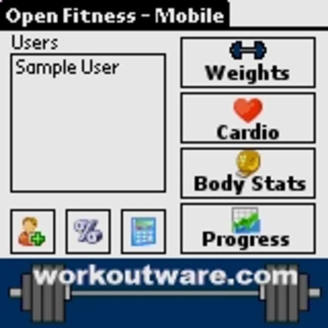 Personal Training Workstation Screenshot