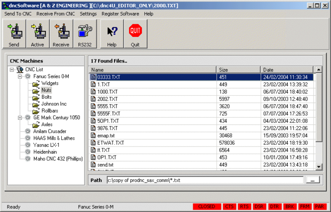 dncSoftware Screenshot
