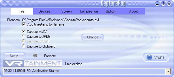 CapturePad Screenshot