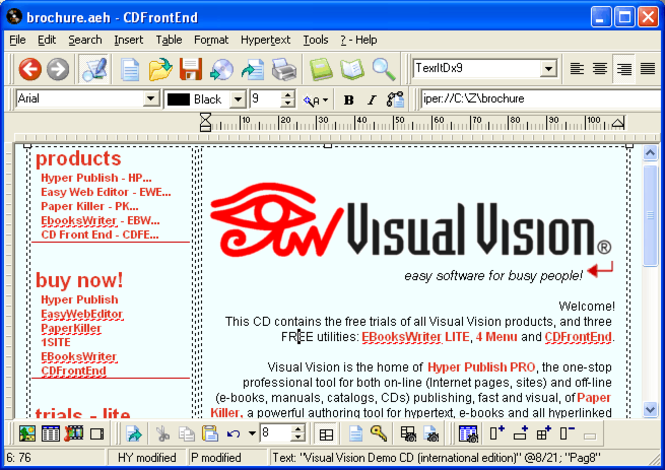 CD FrontEnd LITE Screenshot 1