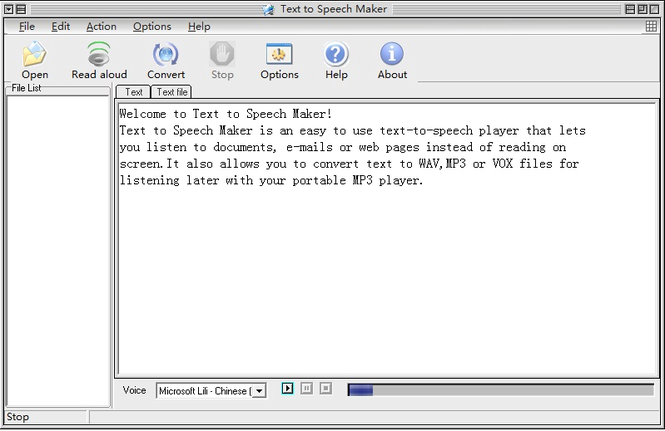 Text to Speech Maker Screenshot 1