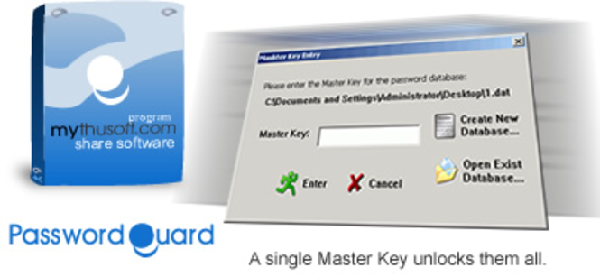 PasswordGuard Screenshot 1