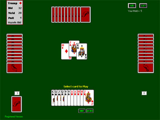 Pinochle for Windows Screenshot