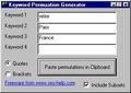 Keyword Permutation Generator 1