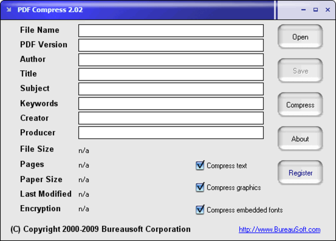 PDF Compress Screenshot
