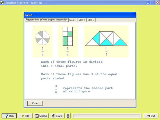 Fraction Shape-Up Screenshot