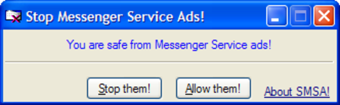 Stop Messenger Service Ads! Screenshot
