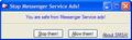 Stop Messenger Service Ads! 1