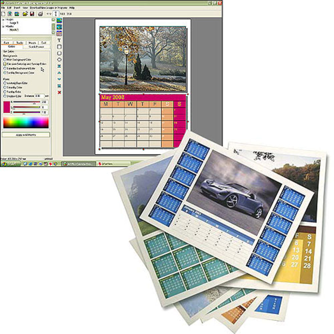 Art Plus Calendar Designer Screenshot