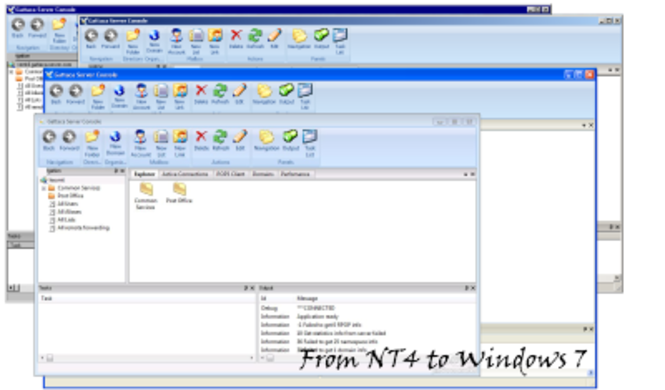 Gattaca Server Screenshot 1