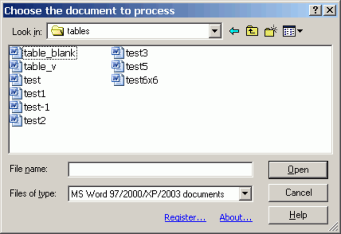 Word2html LT Screenshot 1