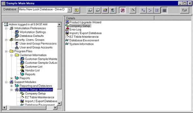 Access Developer Application Architect Screenshot