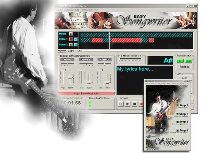 Easy Songwriter Screenshot