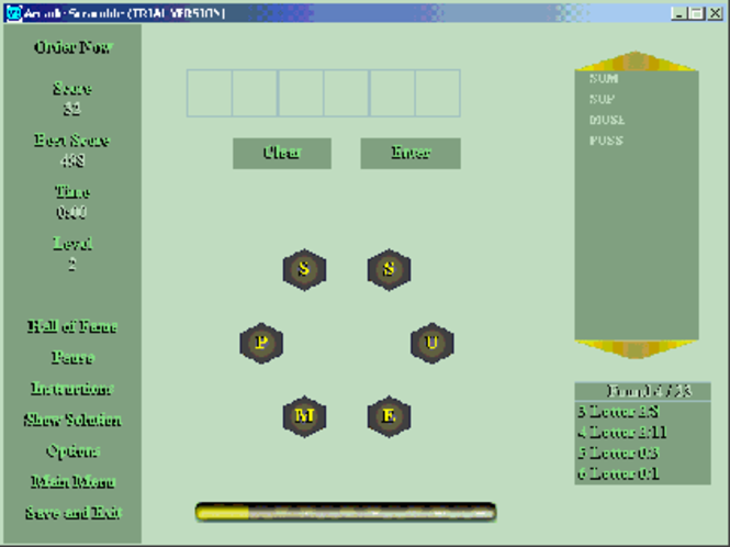 Arcade Scramble Screenshot 2
