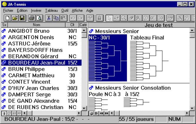 JA-Tennis Screenshot 1