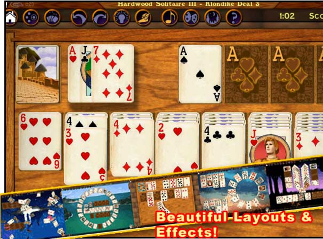 Hardwood Solitaire III Screenshot 1