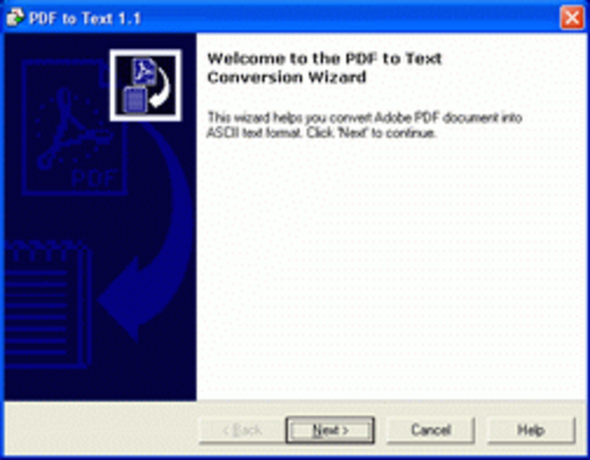 PDF-to-Text Screenshot