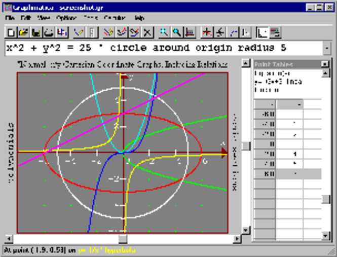 Graphmatica Screenshot