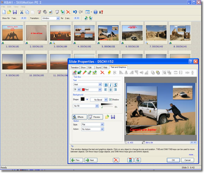 StillMotion  Flash Publisher Screenshot