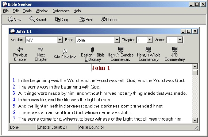 Bible Seeker Screenshot