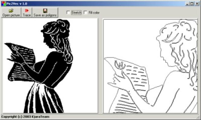 Pic2Vec Screenshot