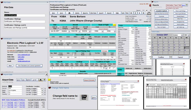 Electronic Pilot Logbook (U.S.) Screenshot 1
