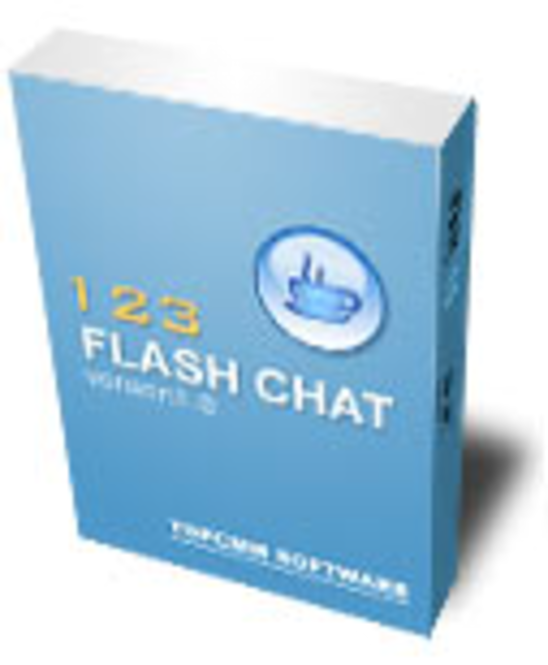 123 Flash Chat Server (500 users+src) Screenshot 1