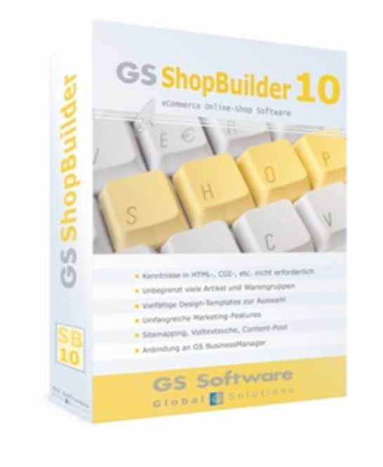 GS ShopBuilder Standard 10 Screenshot