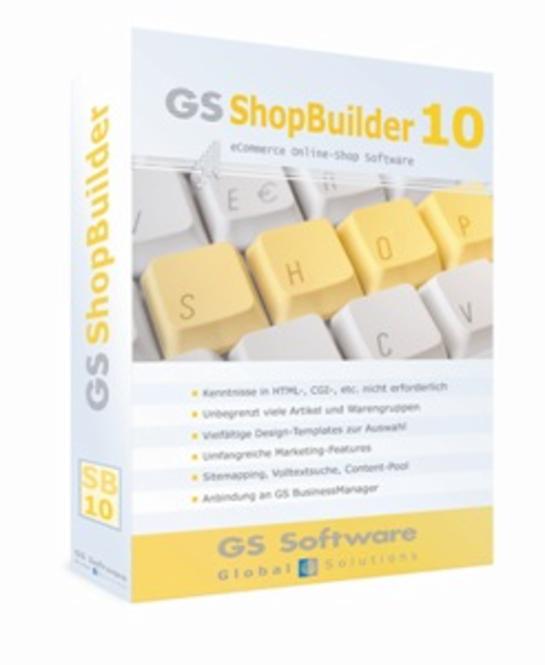 GS ShopBuilder Standard 10 Screenshot 1
