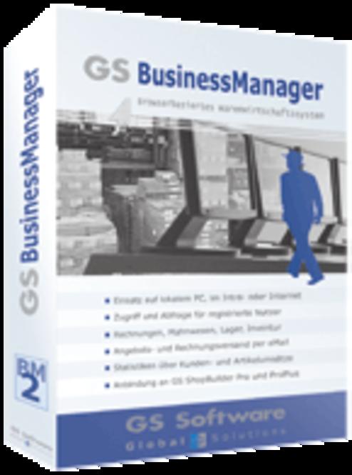 GS Software BusinessManager Standard (deutsch) Screenshot