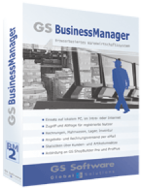 GS Software BusinessManager Pro (deutsch) Screenshot 1