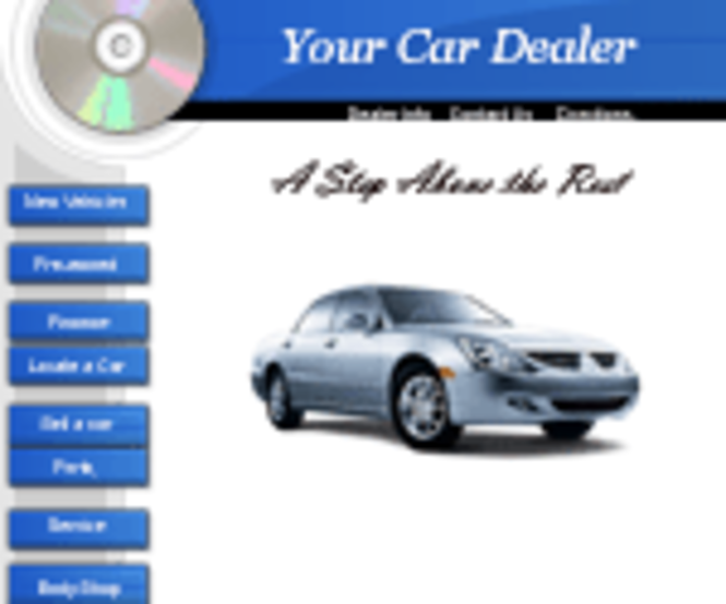 Car Dealer Template Screenshot 1