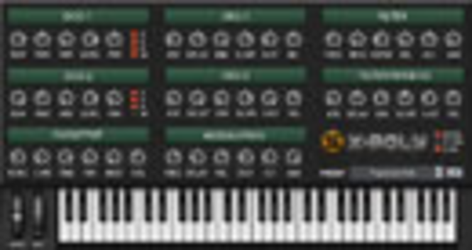 X-Poly VST/AU Screenshot 2