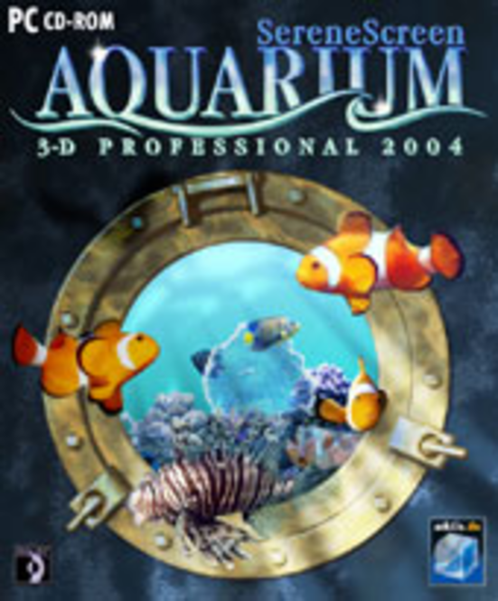SereneScreen Aquarium 3-D Professional 2004 Screenshot 1