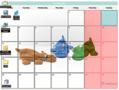 Chameleon Calendar 1