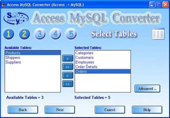 Access-MySql Screenshot 1