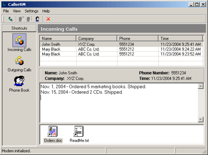 CallerRM Screenshot