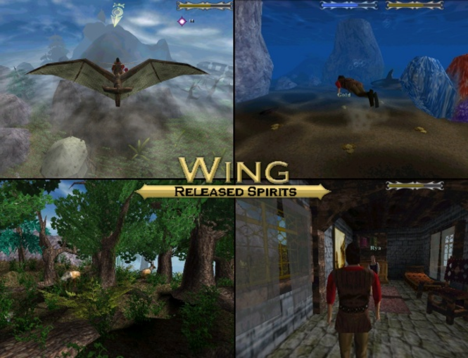 Wing: Released Spirits Screenshot 1