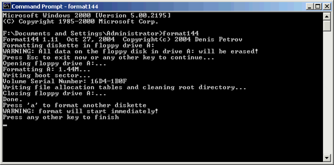 Format144 Screenshot 1