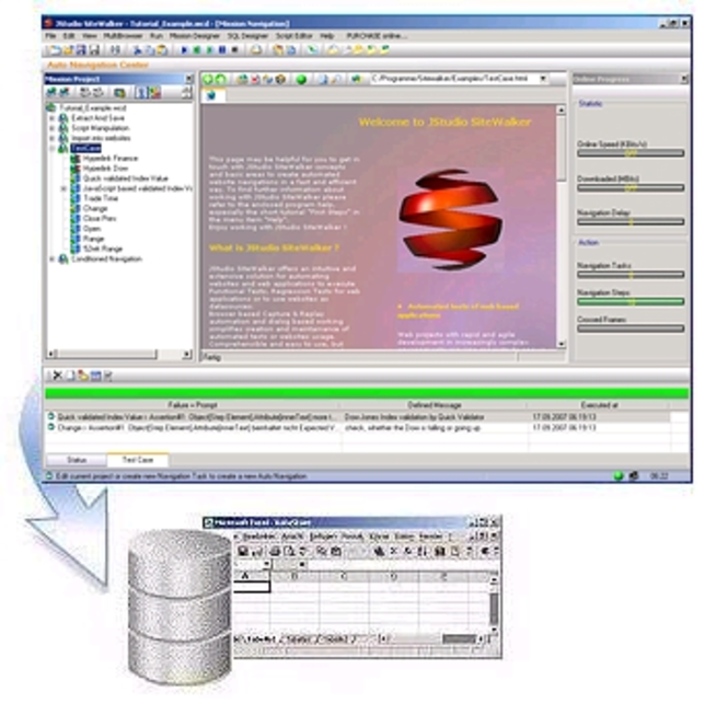 JStudio SiteWalker Screenshot 1