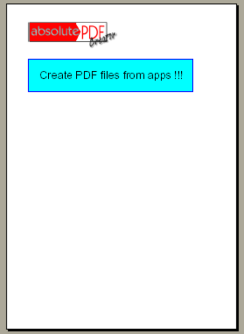 absolutePDF-Creator Easy Screenshot 1