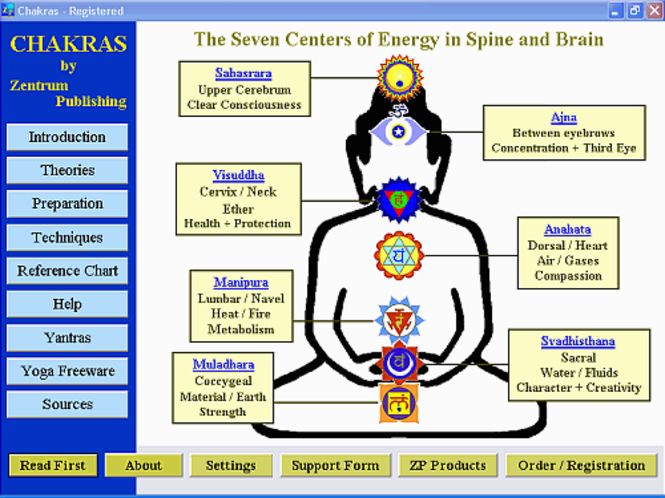 Chakras Screenshot